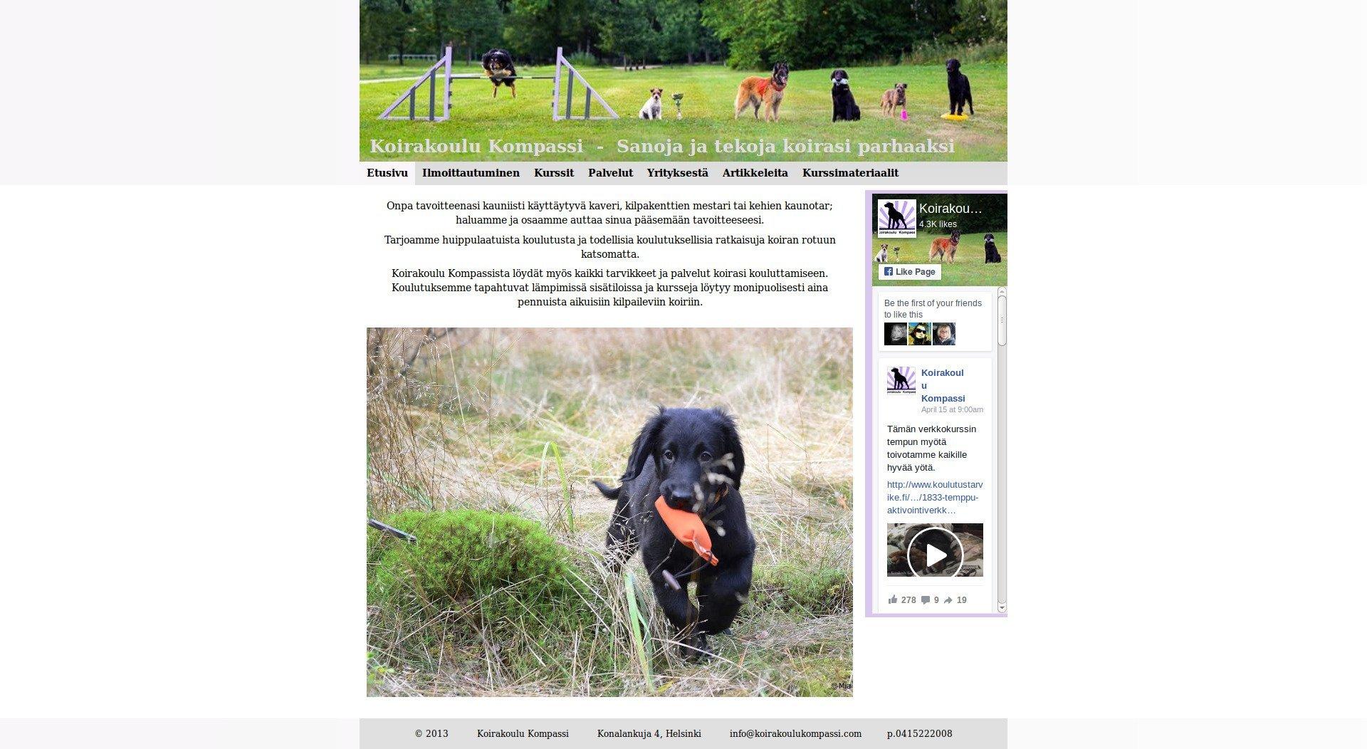 Koirakoulu kompassi kokemuksia – Uimapuvut ja alusvaatteet